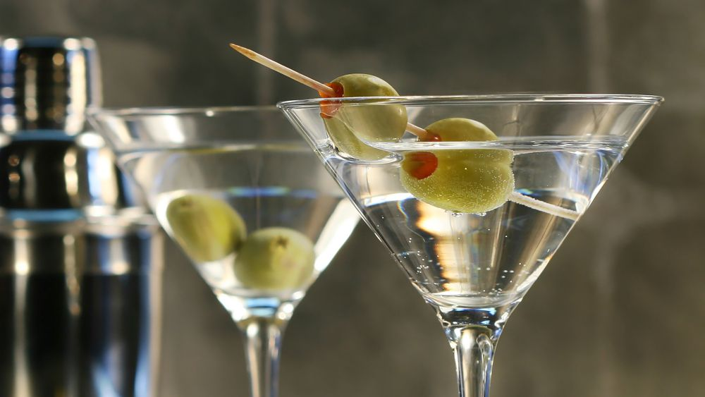 Spirit Bear Vodka Martini