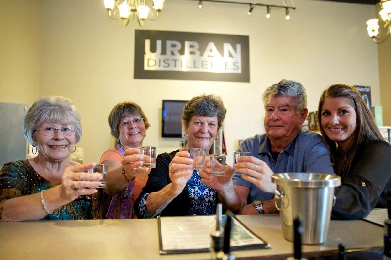 Urban Distilleries tours and tastings